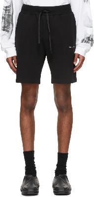 1017 ALYX 9SM Black Collection Logo Shorts