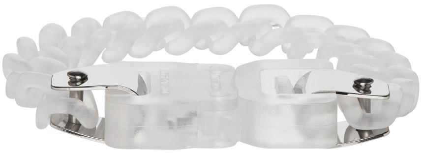 1017 ALYX 9SM Transparent Chain Link Buckle Bracelet