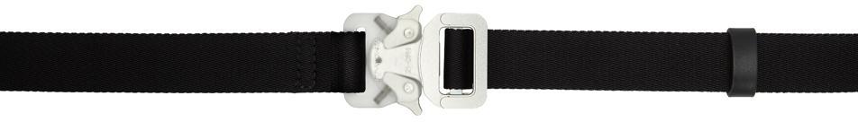 1017 ALYX 9SM Black & Transparent Medium Rollercoaster Belt