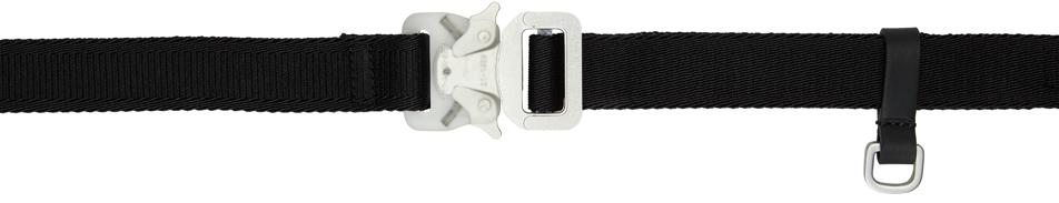 1017 ALYX 9SM Black Medium Mixed Rollercoaster Belt