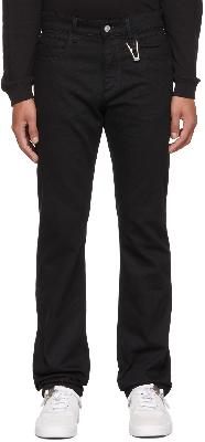 1017 ALYX 9SM Black 6-Pocket Jeans