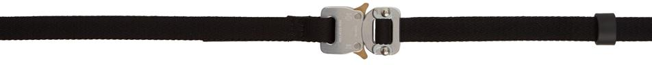 1017 ALYX 9SM Black Small Rollercoaster Belt