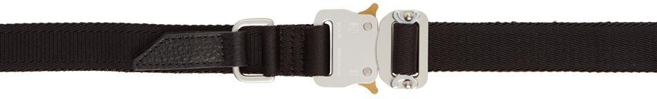 1017 ALYX 9SM Black Medium Rollercoaster Belt