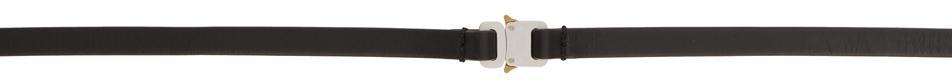 1017 ALYX 9SM Black Micro Buckle Belt