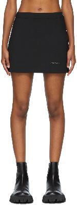 1017 ALYX 9SM Black Stylo Miniskirt