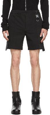 1017 ALYX 9SM Black Trackshort 1 Shorts