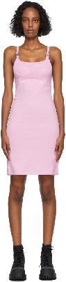 1017 ALYX 9SM Pink Knit Disco Dress