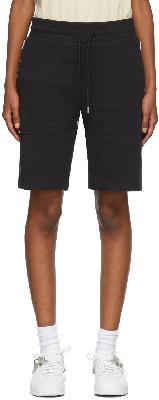 1017 ALYX 9SM Black Visual Sweat Shorts