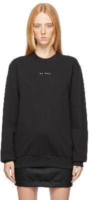 1017 ALYX 9SM Black Visual Sweatshirt