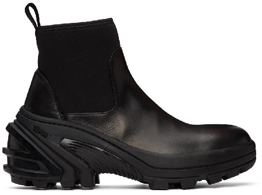 1017 ALYX 9SM Black Mid Boot SKX Chelsea Boots