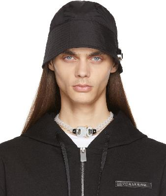 1017 ALYX 9SM Black Buckle Bucket Hat