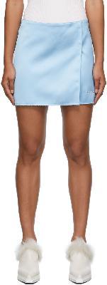 1017 ALYX 9SM Formal Tailoring Miniskirt