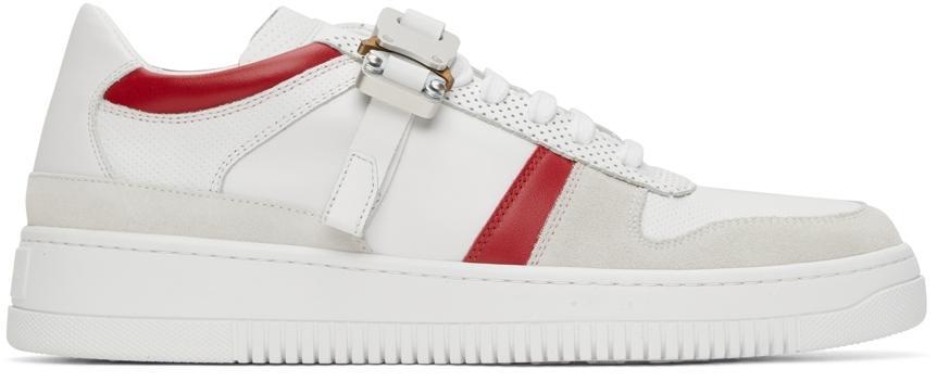 1017 ALYX 9SM Suede Buckle Low Sneakers