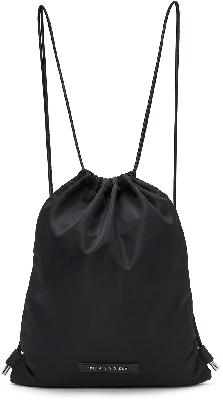 1017 ALYX 9SM Black Re-Nylon Drawstring Backpack