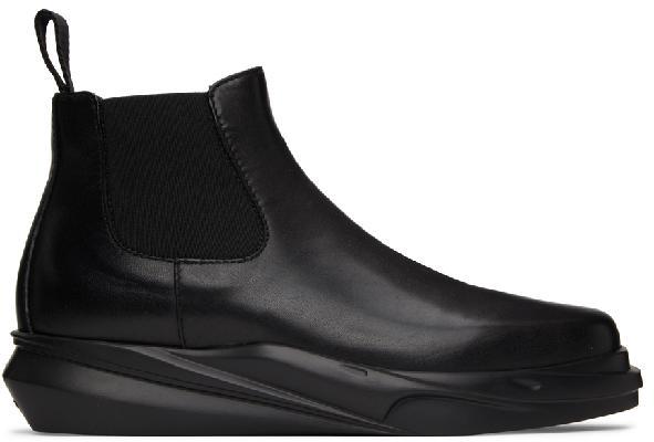 1017 ALYX 9SM Leather Mono Chelsea Boots