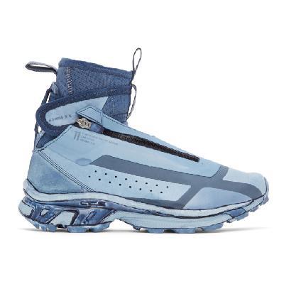 11 by Boris Bidjan Saberi Blue Salomon Edition Bamba 3 High Sneakers