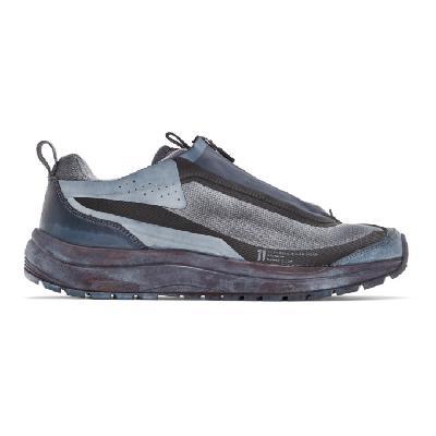 11 by Boris Bidjan Saberi Blue & Black Salomon Edition Bamba 2 Low Sneakers