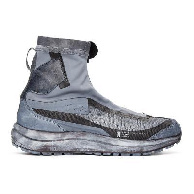 11 by Boris Bidjan Saberi Grey Salomon Edition High Bomba 2 Sneakers