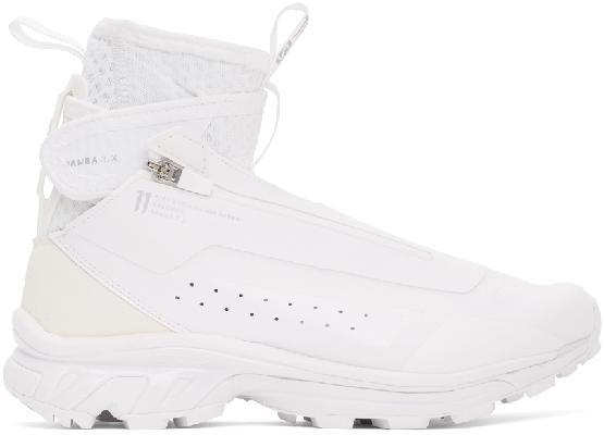 11 by Boris Bidjan Saberi White Salomon Edition Bamba 3 High Sneakers