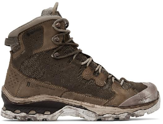 11 by Boris Bidjan Saberi Taupe Salomon Edition Boot2 GTX Boots