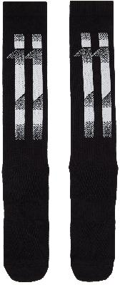 11 by Boris Bidjan Saberi Black Block Stripes Socks