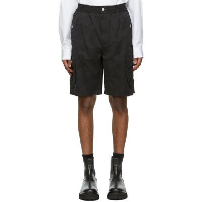 3.1 Phillip Lim Black Utility Cargo Shorts