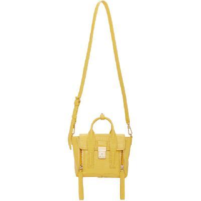 3.1 Phillip Lim Yellow Mini Pashli Satchel