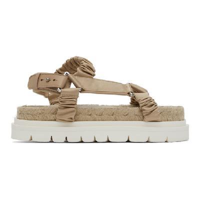 3.1 Phillip Lim Pink Noa Platform Espadrille Sandals