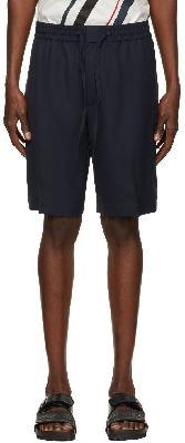 3.1 Phillip Lim Navy Twill Cruiser Shorts