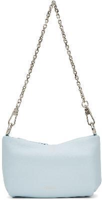 3.1 Phillip Lim Blue Mini Croissant Shoulder Bag