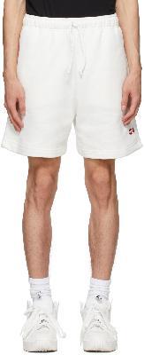 424 White Logo Shorts