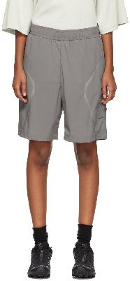 A-COLD-WALL* Grey Welded Shorts