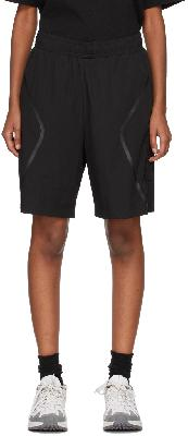 A-COLD-WALL* Black Welded Shorts