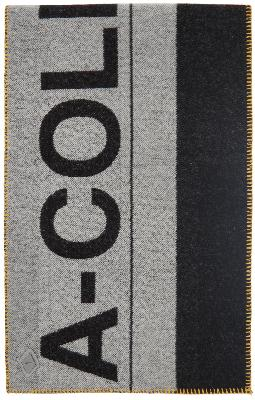 A-COLD-WALL* Large Logo Wool-Blend Scarf