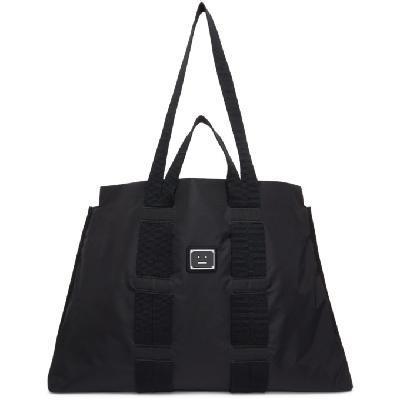 Acne Studios Black Ripstop Arvid Tote Bag