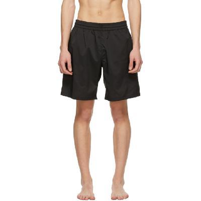 Acne Studios Black Ripstop Swim Shorts