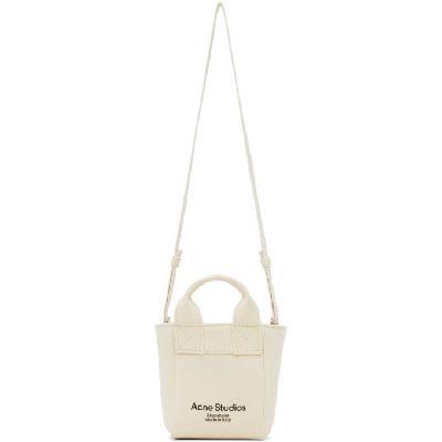 Acne Studios Beige Small Shopper Bag