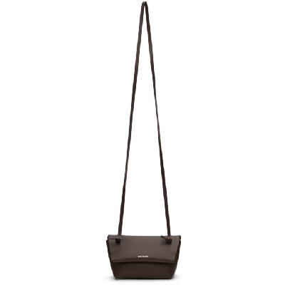 Acne Studios Brown Knotted Strap Bag