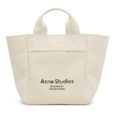 Acne Studios Beige Large Shopper Tote
