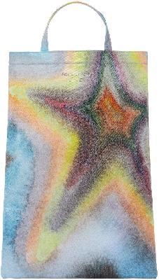 Acne Studios Multicolor Ben Quinn Edition Oilcloth Star Tote