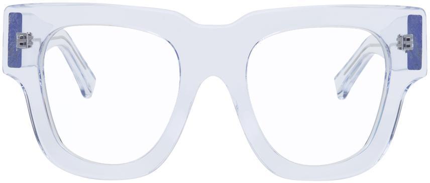 Acne Studios Transparent Oversized Square Sunglasses