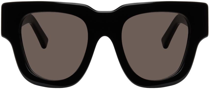 Acne Studios Black Oversized Square Sunglasses