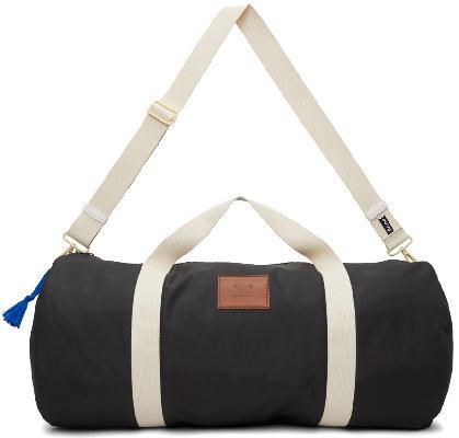 Acne Studios Black Arataki Face Duffle Bag