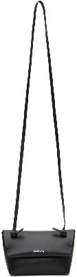 Acne Studios Black Knotted Strap Bag