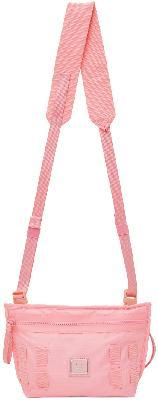 Acne Studios Pink Logo Crossbody Bag