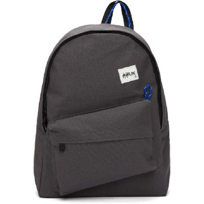 ADER error Grey Canvas 03 Backpack