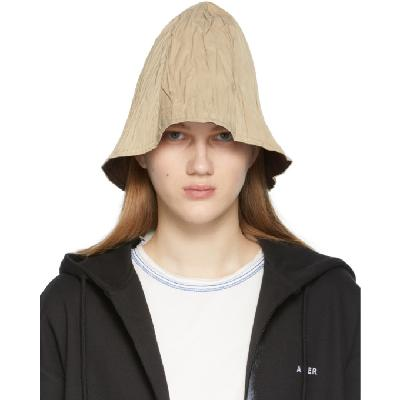 ADER error Reversible Beige Pli Hat