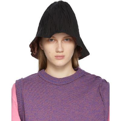 ADER error Reversible Black Pli Hat