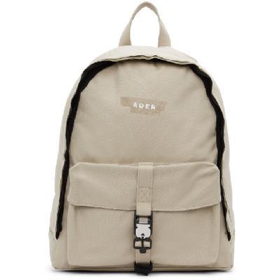 ADER error Beige Duct Tape Backpack
