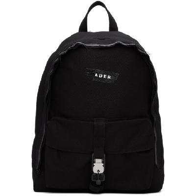 ADER error Black Duct Tape Backpack